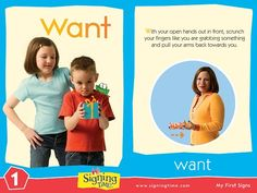 Learn Sign Language » Sign of the Week – Want