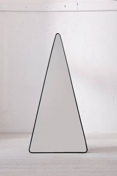 Slide View: 2: Triangle Standing Mirror