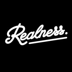 Realness Lettering