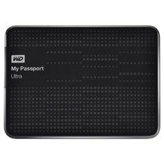 Amazon.com: WD My Passport Ultra 1TB Portable External Hard Drive USB 3.0 with Auto and Cloud Backup - Black (WDBZFP0010BBK-NESN) $89