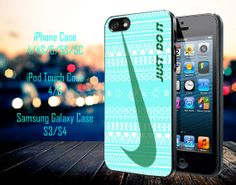 Nike Just Do it aztec pattern Samsung Galaxy by GeniusInnovation, $13.79