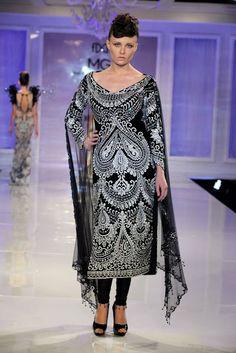 A A I N A - Bridal Beauty and Style: Designer Bride: Manav Gangwani - Delhi Couture Week 2012