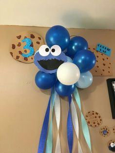 Cookie Monster/Milk & Cookies party