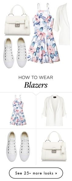"""""""Untitled #496"""" by suada24-07 on Polyvore featuring Hollister Co., River Island, Converse and Miu Miu"""
