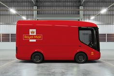 royal mail electric truck