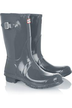 Hunter OriginalGloss Short Wellington bootsfront