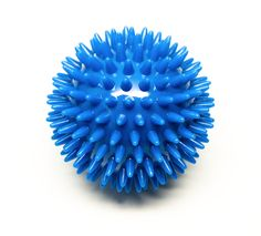 Wooden Foot Roller Bundle with the Blue Porcupine Massage Ball - The Foot Therapy Combo