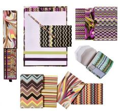 Missoni for Target office supplies