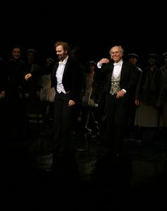 George Lee Andrews & David Cryer as Mr. Firmin and Mr. Andre - Photo Flashback: Even More Past PHANTOM Anniversaries