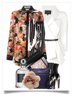 """In a Floral mood..."" by kjlnelson ❤ liked on Polyvore featuring Givenchy, Carolina Herrera, Bobbi Brown Cosmetics, Alexander McQueen, Kate Spade and Accessorize"
