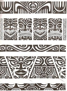Maori tattoo kirituhi Polinesia Polynesian Tatuaje by Tatuagem Polinésia - Tattoo Maori Maori Tattoos, Tattoo Maori Perna, Ta Moko Tattoo, Hawaiianisches Tattoo, Marquesan Tattoos, Tattoo Motive, Samoan Tattoo, Tribal Tattoos, Sleeve Tattoos