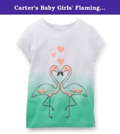 Carter's Baby Girls' Flamingo Tee (Baby) - White - 6 Months. Carters Flamingo Tee (Baby) - White Carter's is the leading brand of children's clothing, gifts and accessories in America, selling more than 10 products for every child born in the U.S. Their designs are based on a heritage of quality and innovation that has earned them the trust of generations of families.