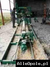 Obtaczarka do cylindrowania bali (Koźmin Wlkp)  http://www.alleopole.pl/