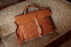 Jozefina Messenger Bag by The Beta Version Leather Accessories, Fashion Accessories, Fashion Bags, Mens Fashion, Diy Fashion, Altering Clothes, Leather Men, Brown Leather, Purses And Bags