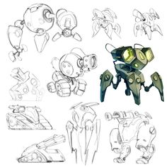 Project Robot - initial Concepts