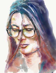 La tan bella y alegre Helena Yepes H.