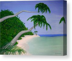 Tropical Invitation Wood Print by Faye Anastasopoulou. All wood prints are professionally printed, packaged, and shipped within 3 - 4 business days and delivered ready-to-hang on your wall. Canvas Art, Canvas Prints, Art Prints, Puerto Rico, Wood Invitation, Relaxing Holidays, Ocean Scenes, Thing 1, Art For Sale Online