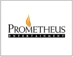 "Prometheus logo with Eternal Flame - ""The logo of Ancient Aliens production company dawns the kabbalist eternal flame over the name of fallen angel Prometheus."""
