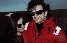 #U2History - 20th June 1992: @u2 protest against the #Sellafield nuclear plant for Greenpeace International on the coast of the Irish Sea in #Cumbria, #England.  Photos By: ©Adrian Boot / urbanimage.tv VIA: urbanimage.tv #U2NewsIT  #U2 #u2memes #Bono #BonoVox #AliHewson #AlisonStewart #AlisonHewson #rock #music #rockmusic #90s #90sstyle #90srock #couple #greenpeace