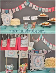 Stampin' Dolce: a wonderland birthday using Stampin' Up's My Digital Studio