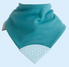 This is our 'Simple Classic' - reversible with teal on one side and baby blue on reverse. http://www.cheekychompers.com (£9.99) #babywear #babyclothes #babystuff #teething #bibs #toys #childcare #baby