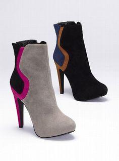 Colin Stuart NEW! Colorblock Bootie #VictoriasSecret http://www.victoriassecret.com/shoes/fall-trend-report/colorblock-bootie-colin-stuart?ProductID=70801=OLS?cm_mmc=pinterest-_-product-_-x-_-x