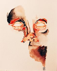 Melting Watercolor paper #man #artist #art #ink #acrylic #moleskine #drawing #sketch #masterpiece #paint #illustration #male #fashiondiaries #portrait #desenho #linedrawing #oilpainting #instalike #instaart #instamood #woodwork #watercolor #sketchbook #artsy #beautiful #instagood #gallery #creative #instaartist #graphic de fredvalim