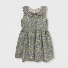 Mila & Emma Toddler Girls' Sleeveless A-line Dress - Multicolored Burberry Baby Girl, Baby Outfits Newborn, Ladies Dress Design, Stylish Outfits, Kids Fashion, Toddler Girls, Girl Outfits, Summer Dresses, Target