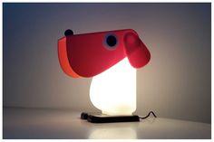 lampe chien- Fernando Cassetta 1 Table Lamp, Lighting, Blog, Kids, Home Decor, Young Children, Table Lamps, Boys, Decoration Home