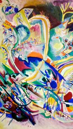 Artsy Kandinsky at the Tel Aviv art Museum