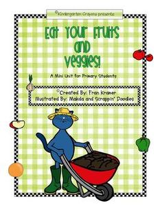 Pete the Cat is back with a packet: Eat Your Fruits and Veggies!This is a supplemental packet for your Plant or Gardening Unit. It has the foll...