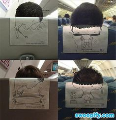 Getting Bored On Airplane #humor #lol #funny