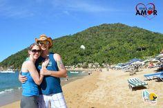 Yelapa Beach - Puerto Vallarta - #beach #blue #vacations #travel #couple #ocean #sky #mountain #love #14deFebrero #sanvalentin