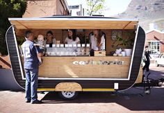 A coffee stall at Neighbourgoods Market in South Africa