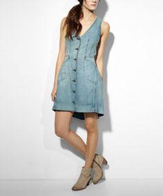 Bustle Dress - Sunfade - Levi's - levi.com