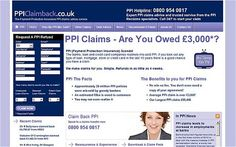 http://www.ppireclaimco.co.uk/ppi-compensation/  If you are one of the many unfortunate people to be mis-sold PPI when you applied for a loan or mortgage, then you are entitled to full PPI compensation for all the money you paid to your lender.