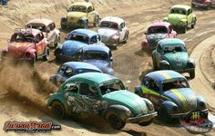 V W Bug Racing.... Would be a great new NASCAR series!!!