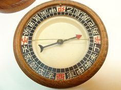 Antique Chinese Asian Compass Feng Shui by MjsFunkandJunk on Etsy, $65.00