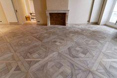Panels Aremberg gray leached Best Flooring, Timber Flooring, Parquet Flooring, Hardwood Floors, Wood Floor Pattern, Floor Patterns, Wooden Pattern, Parquet Versailles, Versailles Pattern