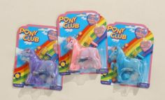 Pony Club Horse with Brush by JT. $3.00. Pony Club Horse with Brush. 4 1/2. Assorted colors.