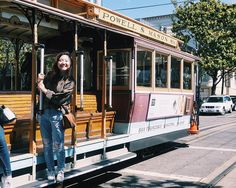 Warning: Don't stand out to far otherwise you will be hit by other moving vehicles  Other than that- bliss on a cable car  by laleepop13