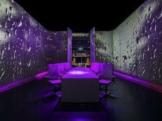 Ultraviolet by Paul Pairet: UV ROOM-RAIN by Scott Wright of Limelight Studio