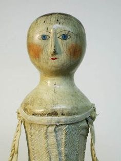 antique wooden doll