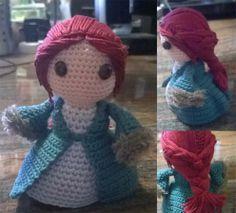 """Una piccola bambolina a omaggio di Catelyn Stark, dalla serie di """"a game of thrones"""""""