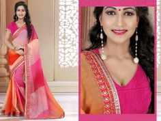 http://www.thatsend.com/shopping/lp/fvp/TESG235426/i/TE306526/iu/magenta-georgette-traditional-saree  Magenta Georgette Traditional Saree Apparel Pattern Plain. Work Border Lace, Print. Blouse Piece Yes. Occasion Festive, Diwali. Top Color Magenta.