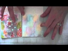 Make It Monday #168: Combining Chalk and Stamps with Impression Plates