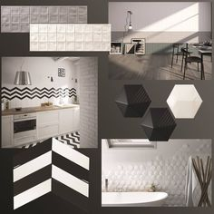 Contrast creates completion, thus our Monochromatic tile design trend is an example of how two divergent colors create balance and peace in your space. Our serie Creta, serie Chevron wall and serie Umbrella collections are available at our showrooms in AIS BGC and Ais Cebu.  #tiletrends  #monochromatic #equipecerámicas #zirconio  #ais #interiordesign #interiorinspiration  #newcollections #NewArrivals #newcollections #tiles #interiordesign #homedecor