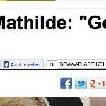 reactie van Paleis op berichtgeving vennootschap Mathilde is... publireportage (2 x in artikel!)