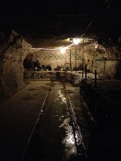 Cave tours and wine tasting at Luna Rossa Wine Bar in Stillwater, MN.