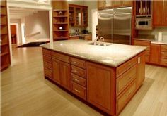 Bamboo Flooring Kitchen Design Style - Beautiful Homes Design